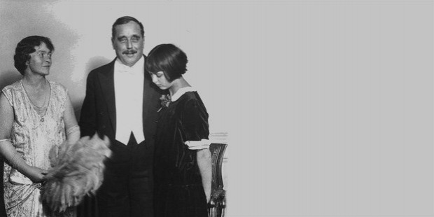 hg wells wife and daughter