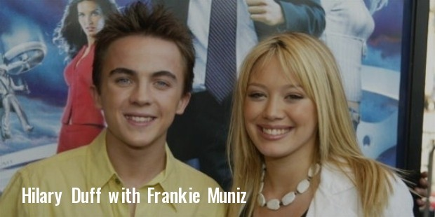 hilary duff and frankie muniz
