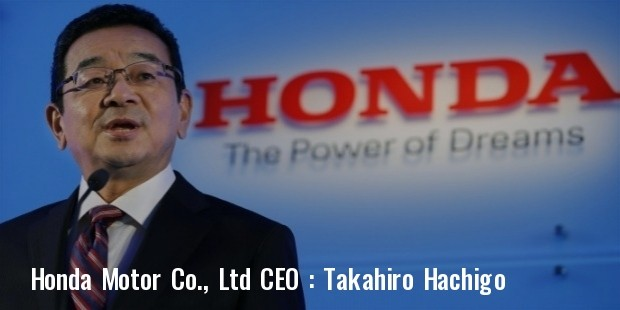 honda motors ceo