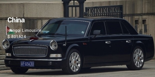 hongqi limousine