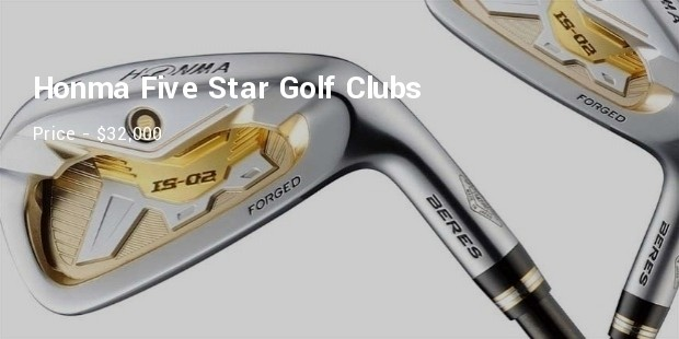 honma five star golf clubs