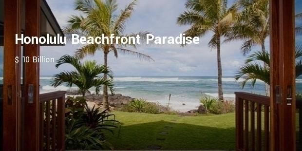 honolulu beachfront paradise