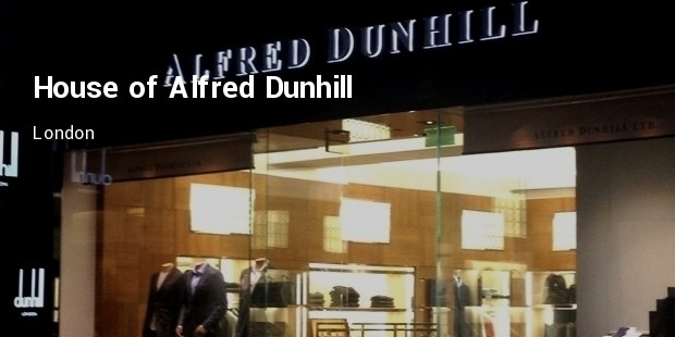 house of alfred dunhill boutique