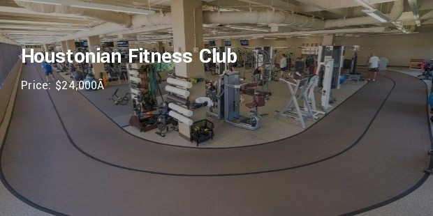 houstonian fitness club