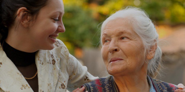 how to flourish while taking care of aging parents at home