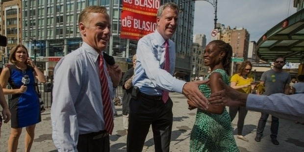 howard dean, bill de blasio