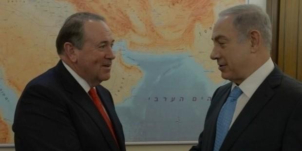 huckabee met with israel s prime minister bibi netanyahu