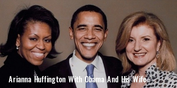 huffington with michelle and barack obama