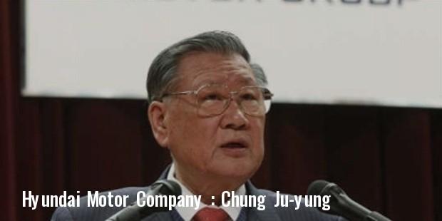 hyundai founder