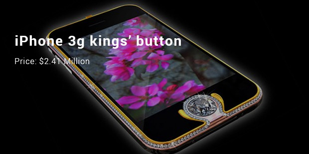 iphone 3g kings' button