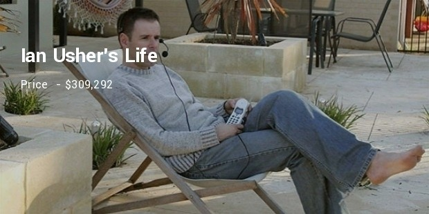 ian ushers life