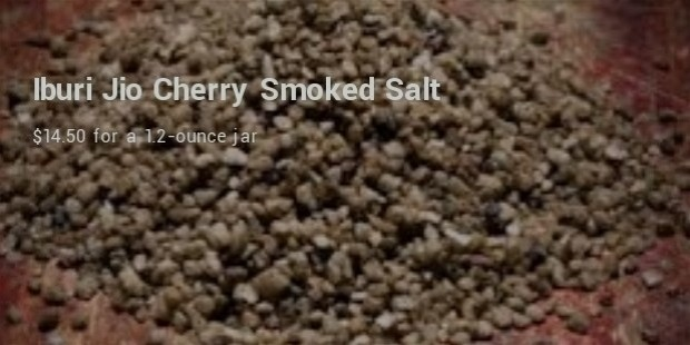 Iburi Jio Cherry Smoked Salt