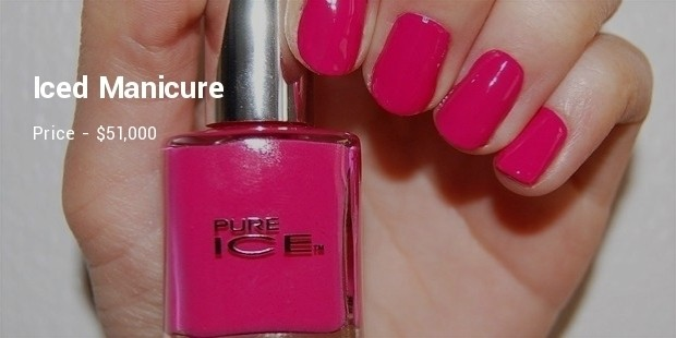 iced manicure