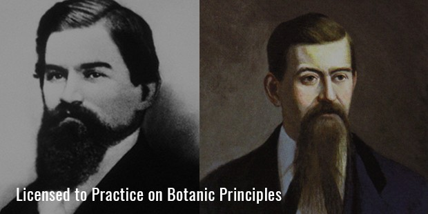 icensed to Practice on Botanic Principles