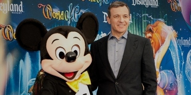 iger at the world of color premiere, disney california adventure,
