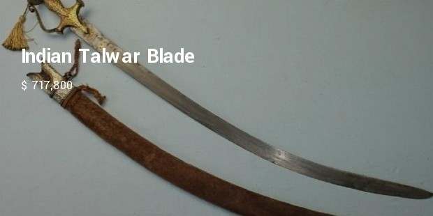 indian talwar blade