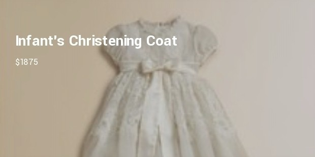 infants christening coat from dolce gabbana