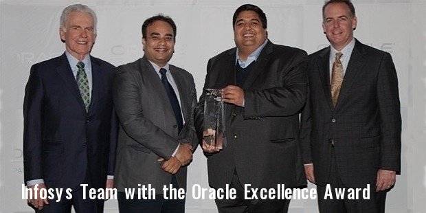 infosys oracle excellence award