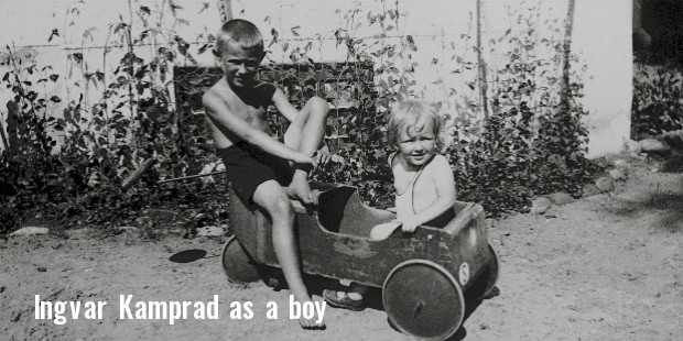 ingvar kamprad as a boy