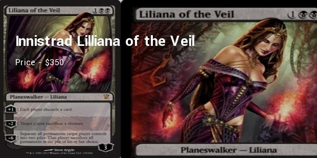 innistrad liliana of the veil