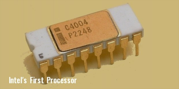 intel fisrt chip