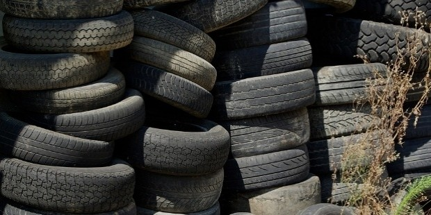 invent new uses of old tires