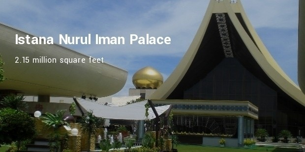 1 istana nurul iman palace 215 million square feet