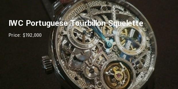 iwc portuguese tourbillon squelette