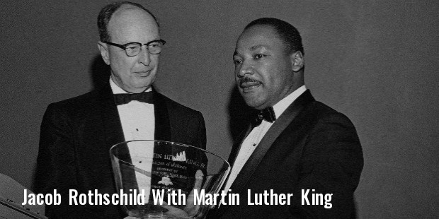 jacob rothschild martin luther king