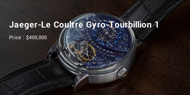 Jaeger-Le Coultre Gyro-Tourbillion 1