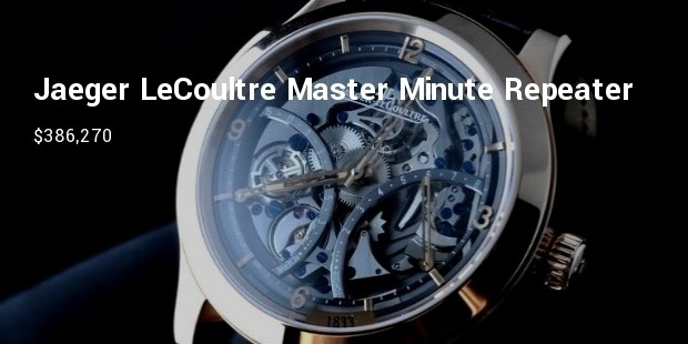 jaeger lecoultre master minute repeater 1833
