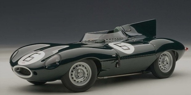 jaguar d type of 1955