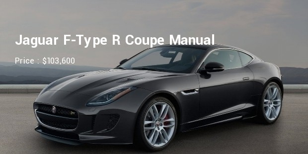 Jaguar F-Type R Coupe Manual