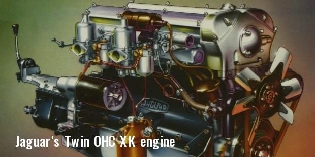 jaguars twin ohc xk engine