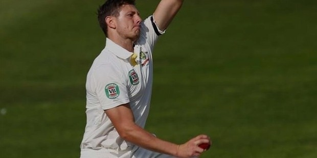 james pattinson of australia during day one of the somerset versus australia tour match at the county ground on june 26 2013
