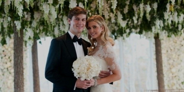 jared kushner and ivanka trump wedding