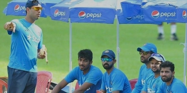 jasprit bumrah practice session