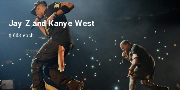 jay z and kanye west, watch the throne tour