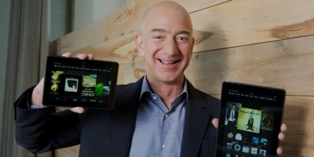 jeff bezos kindle innovation