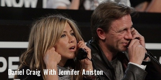 jennifer aniston and daniel craig