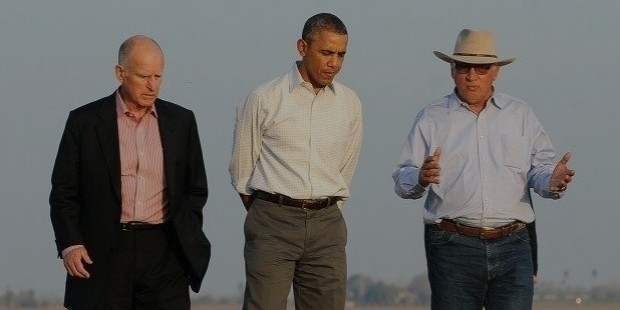jerry brown obama farm 640x511