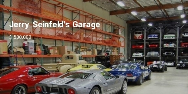 Jerry seinfelds garage for Garage new s villejuif