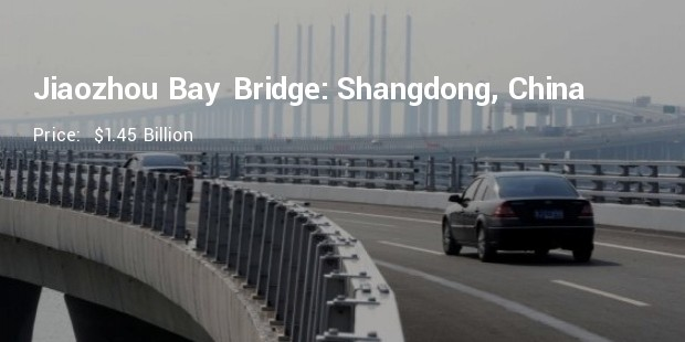 jiaozhou bay bridge shangdong china