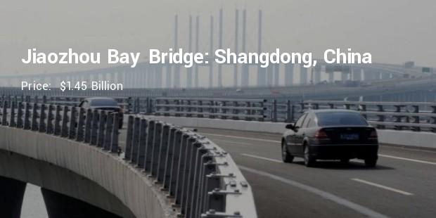 jiaozhou bay bridge shangdong china