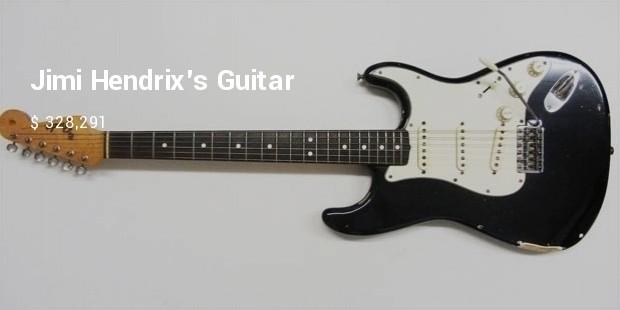 jimi hendrixs guitar