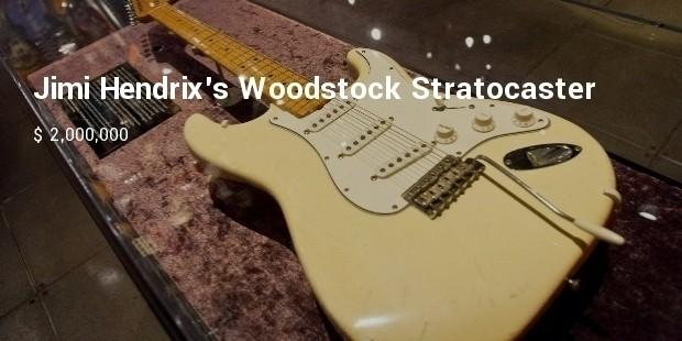 jimi hendrixs woodstock stratocaster