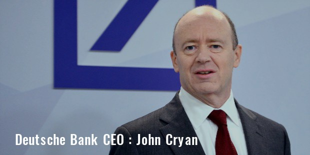 john cryan ceo of deutsche bank