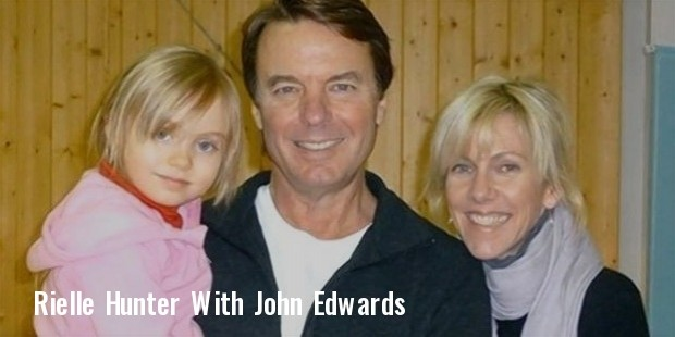 john edwards and rielle hunter