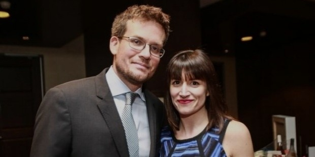 john green with his wife