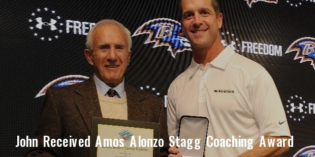 john harbaugh  received the academy s 2013